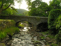 Glendalough Bridge Royalty Free Stock Photography