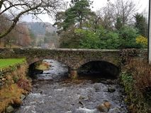 Glendalough bridge stock photography