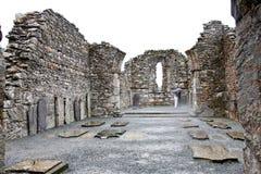 Glendalough Cathedral, Ireland Royalty Free Stock Photo
