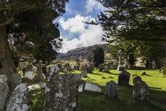 Glendalough dolina blisko Wicklow gór Obraz Royalty Free
