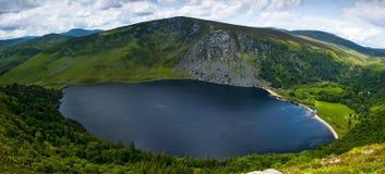 Glendalough - Górny jezioro Obrazy Royalty Free