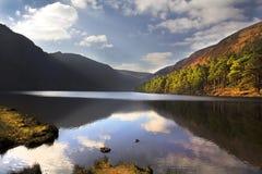 Glendalough jeziorny okręg administracyjny Wicklow Irlandia fotografia stock