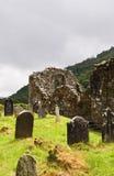 glendalough kościelne ruiny Obraz Royalty Free