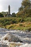 Glendalough Kontrollturm Lizenzfreie Stockfotografie