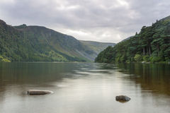 Glendalough lake Stock Photo