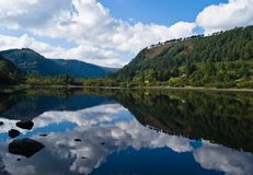 Glendalough - Lower lake Stock Images