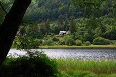 Glendalough, montanhas de Wicklow, Irlanda foto de stock royalty free
