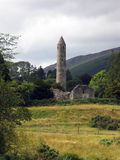 Glendalough runder Kontrollturm Stockfoto