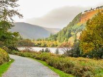 Glendalough Valley, Wicklow Mountains National Park, Ireland Royalty Free Stock Photos