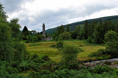 Glendalough Wicklow berg, Irland Royaltyfria Bilder