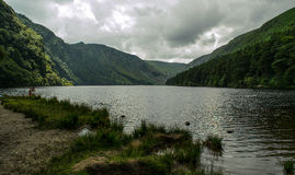 Glendalough, Wicklow, Ierland royalty-vrije stock foto