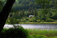 Glendalough, Wicklow Mountains, Ireland. St. Kevin s ancient church in Glendalough, Wicklow Mountains, Ireland Royalty Free Stock Photo