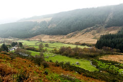 Glendalough in Wicklow mountains Stock Images