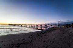 Glenelg beach Stock Images