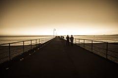 Glenelg beach Royalty Free Stock Images