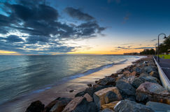 Glenelg Beach at Sunset Stock Image