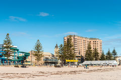 Glenelg Beach view on a day Stock Images