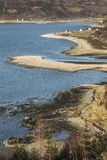 Glenelg coastline in Scotland. Royalty Free Stock Photography