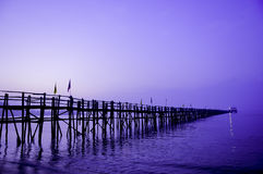 Glenelg Jetty Stock Photography