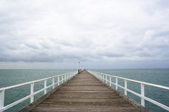 Glenelg jetty Stock Image