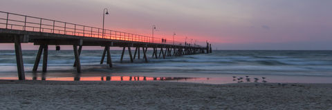 Glenelg Jetty Royalty Free Stock Images