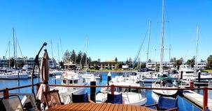 Glenelg Marina View Stockfotografie