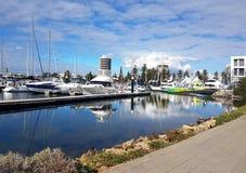 Glenelg Marina View Stockbilder