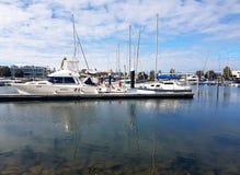 Glenelg Marina View Lizenzfreies Stockfoto