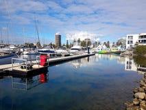 Glenelg Marina View Stockfoto