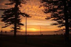 Glenelg-Strand, Adelaide Stockbild
