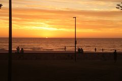 Glenelg-Strand, Adelaide Lizenzfreies Stockfoto