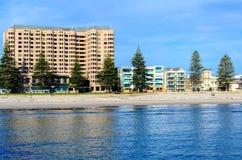 Glenelg-Strand, Süd-Australien Stockbild