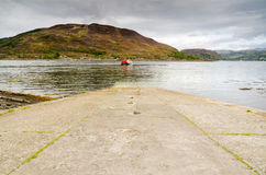 Glenelg to Kylerhea car ferry Royalty Free Stock Photos