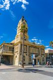 Glenelg Town Hall and square Royalty Free Stock Photo