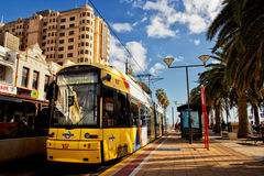 Glenelg tram Royalty Free Stock Photos