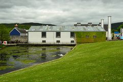 Free Glenfiddich Distillery Dufftown Royalty Free Stock Photo - 123637995