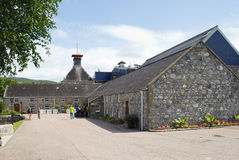 Glenfiddich distillery and visitor centre royalty free stock photography