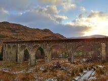 Glenfinan, Σκωτία στοκ εικόνα με δικαίωμα ελεύθερης χρήσης