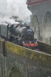 Glenfinnan火车高架桥 免版税图库摄影