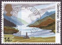 Glenfinnan的苏格兰皇家邮票 免版税库存照片