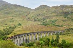 Glenfinnan高架桥,苏格兰 免版税库存图片