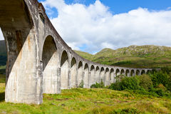 Glenfinnan高架桥 免版税库存照片