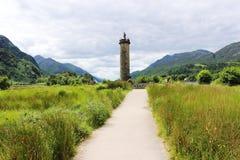 glenfinnan μνημείο στοκ φωτογραφία
