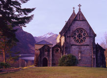 Glenfinnan church, Lochaber, Scotland Stock Photo