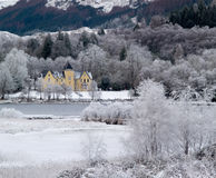 Glenfinnan house hotel Royalty Free Stock Photography
