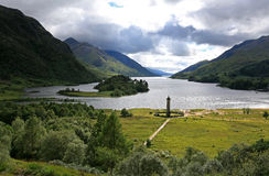 Glenfinnan Monument Stock Image