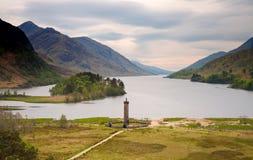 Free Glenfinnan Monument At Loch Shiel Royalty Free Stock Image - 25157866