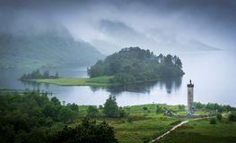 Glenfinnan Monument Royalty Free Stock Image