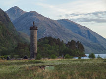Glenfinnan Monument, Scotland Royalty Free Stock Photo