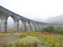 Glenfinnan train bridge stock image